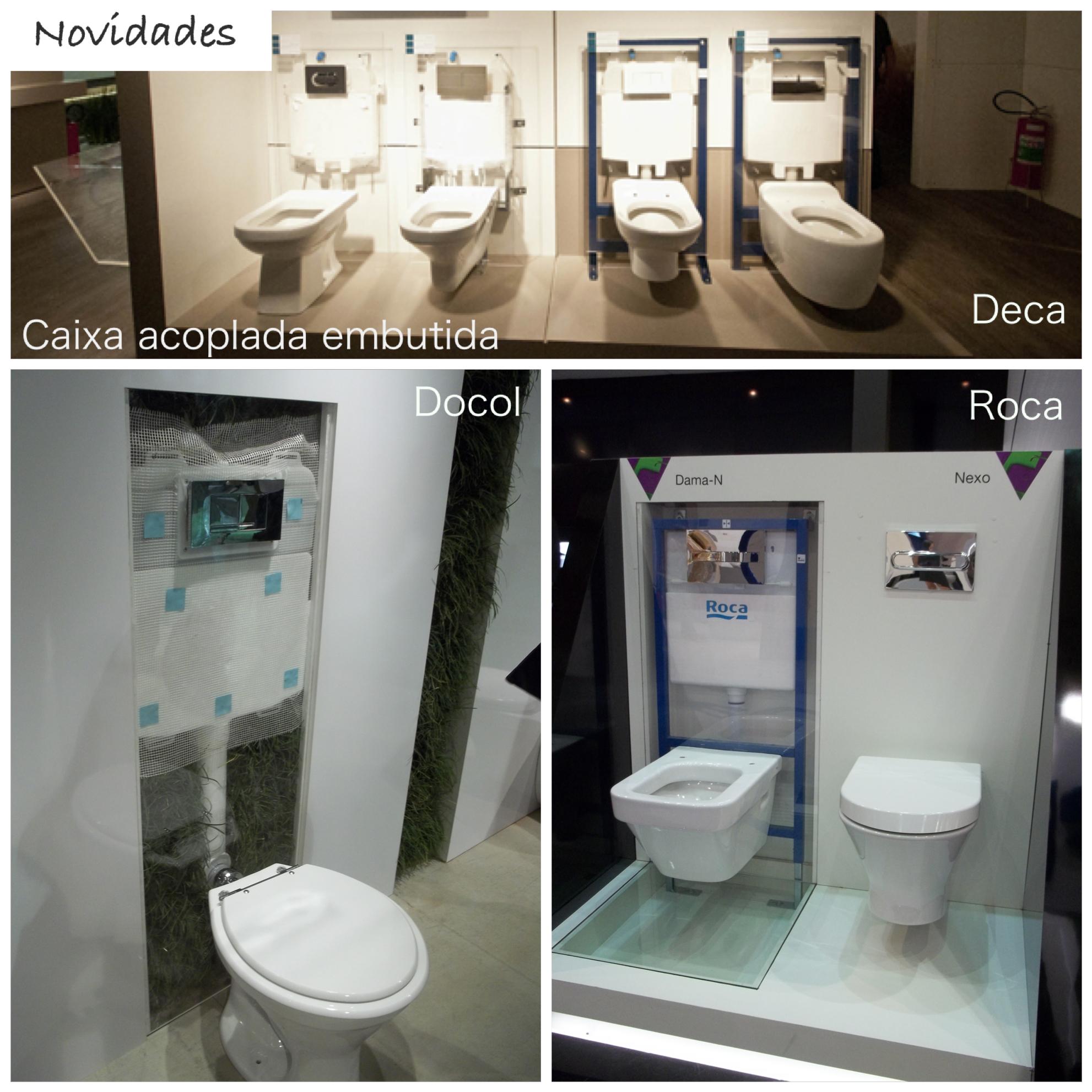 Breve mais novidades da Expo Revestir!!! #7E694D 1982x1982 Acessorios Banheiro Roca
