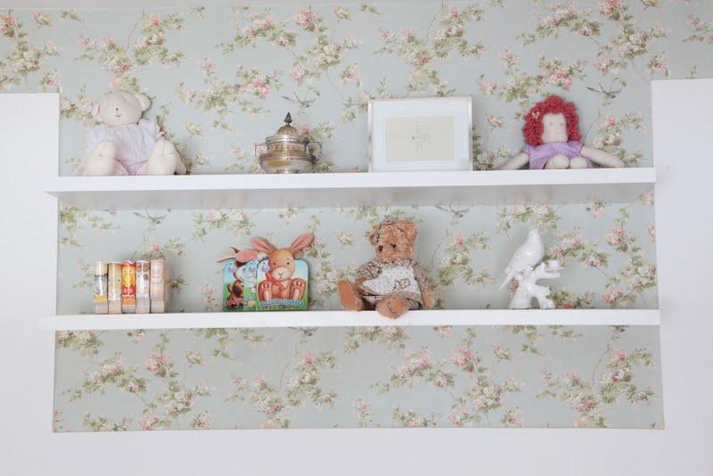 20170409205456 papel de parede quarto bebe floral - Papel pared bebe ...