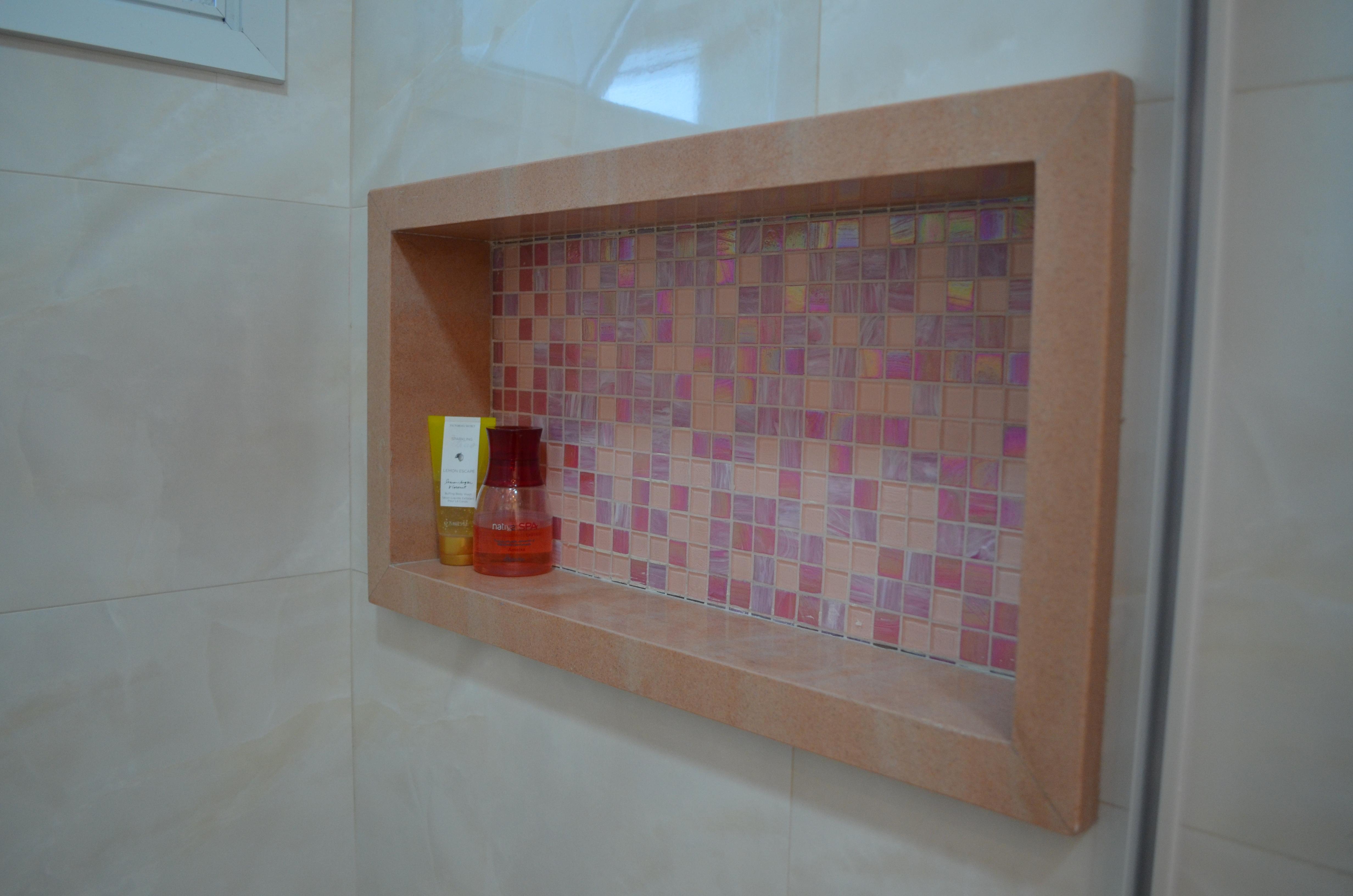 Projeto Reforma Banheiro – Mogi das Cruzes LA LINEA #027FC9 4928x3264 Acabamento De Banheiro Com Nicho
